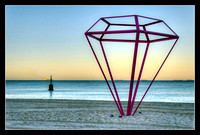 Sculpture by the Sea at Cottesloe Beach.